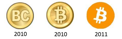 Bitcoin'in eski logosu