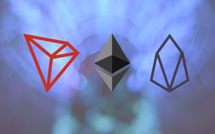 EOS, TRON, Ethereum
