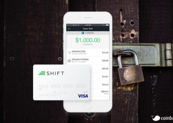 Shift debit kart coinbase
