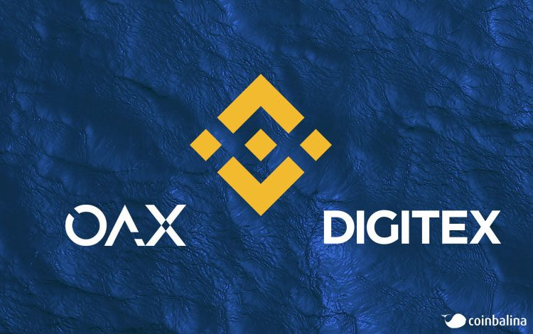 OAX, digitex futures, bnb