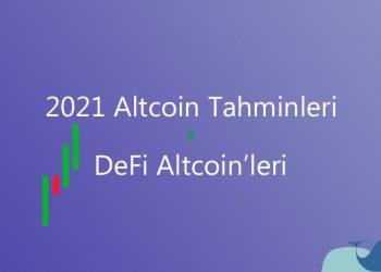 2021 altcoin tahminleri & yükselebilecek coin'ler